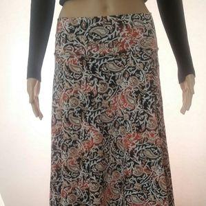 Hypnotized maxi skirt